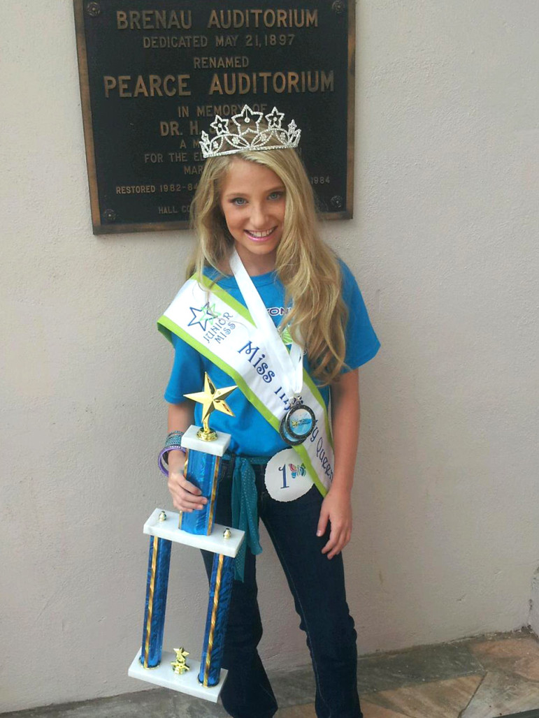 """Hannah Stark, 13, is a star of Lifetime's """"Kim of Queens."""" """"Being on TV helped me open up more,"""" she said."""